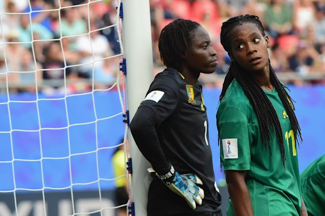 During the 2019 FIFA Women's World Cup France Round Of 16 match between England and Cameroon at Stade du Hainaut on June 23, 2019 in Valenciennes, France.