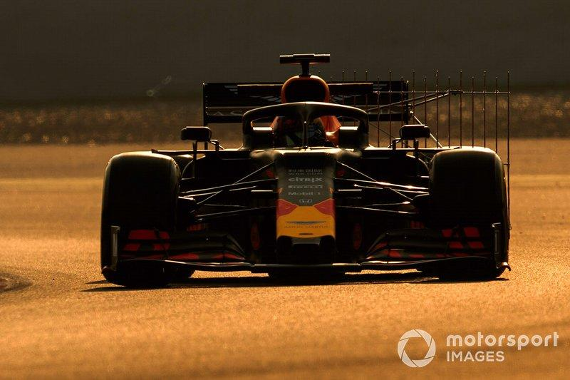 """Pierre Gasly, Red Bull Racing RB15<span class=""""copyright"""">Zak Mauger / Motorsport Images</span>"""