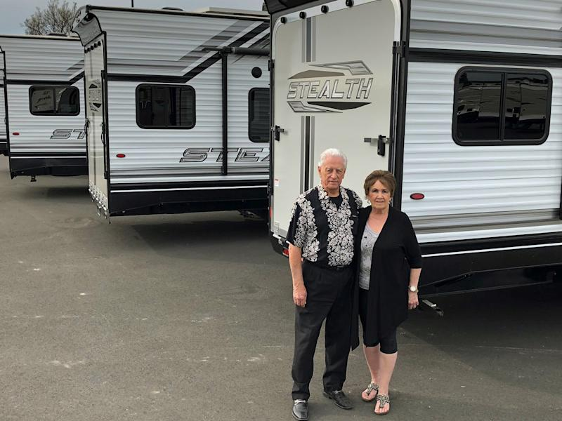 Ernie and Irene Friesen of Yuba City, Calif. Ernie lost $300,000 about a decade ago after investing in Niyato Industries and a related green-energy scam. (FairWarning)