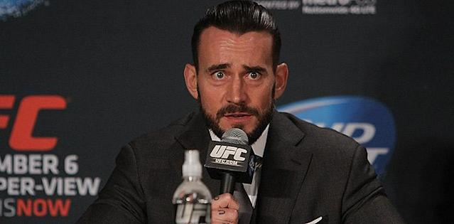 CM Punk Offered to Appear on The Ultimate Fighter to Get in the UFC