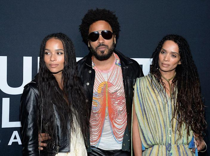 """<p><strong>Famous parent(s)</strong>: actor/musician Lenny Kravitz and actress Lisa Bonet<br><strong>What it was like</strong>: """"When I was younger, I really wanted to prove to people I was a normal human being, that I was cool, chill,"""" she's <a href=""""http://www.complex.com/covers/zoe-kravitz-interview-2015-cover-story/"""" rel=""""nofollow noopener"""" target=""""_blank"""" data-ylk=""""slk:said"""" class=""""link rapid-noclick-resp"""">said</a>. """"When kids were mean, the first thing they'd say is, 'She thinks she's so cool because her dad is famous.' I just wanted to fit in.""""</p>"""
