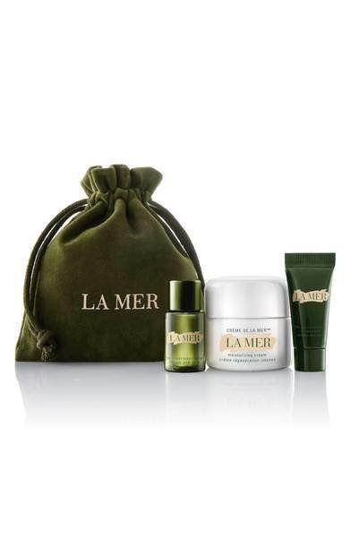 "This limited-edition collection features all of <a href=""https://shop.nordstrom.com/s/la-mer-mini-miracles-collection-nordstrom-exclusive-130-value/4779063?origin=category-personalizedsort&fashioncolor=BLACK"" target=""_blank"">La Mer's must-haves</a> in a luxe drawstring pouch."