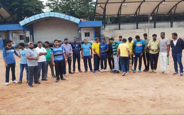 <p>India Today has exclusive pictures which show some BBMP officials at a ground playing cricket.</p>