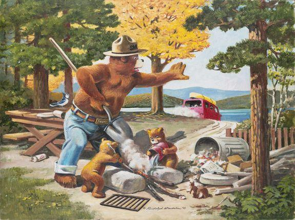 "<img alt=""""/><p>The real Smokey Bear narrowly avoided death in the pine-filled Capitan Mountains of New Mexico, nearly 70 years ago. </p> <p>Just west of the town of Roswell, firefighters found the bear cub clutching to the upper reaches of a tree, with singed paws and legs. The stranded black bear would almost certainly have perished amid the ashy land, but foresters saved him, and ultimately brought the tiny omnivore to the National Zoo in Washington D.C. </p> <p>Here, the newly named ""Smokey Bear"" lived out his domesticated life, well beyond the wild threats of the American West, where forests burn, and indomitable fires are king.</p> <p>Today, of course, Smokey Bear lives on as a 74-year-old message, the longest-serving public service campaign in U.S. history. He is stern, though approachable. Authoritative, yet gentle. He only says one thing, ever.</p> <p>""Only you can prevent wildfires.""</p> <p>But as Smokey the campaign — run by the U.S. Forest Service, the National Association of State Foresters, and the non-profit advertiser the Ad Council — approaches his 75-birthday, he has entered changing climes. Earth's temperature has been rising for over a century — a rise that is indisputably <a rel=""nofollow"" href=""https://mashable.com/article/climate-change-carbon-marco-rubio-republicans/?utm_campaign&utm_context=textlink&utm_medium=rss&utm_source"">caused by humans</a>. But over the past four decades, this rate of warming has <a rel=""nofollow"" href=""https://mashable.com/article/global-warming-trend-nasa-charts/?utm_campaign&utm_context=textlink&utm_medium=rss&utm_source"">accelerated</a>.</p> <p><img title=""A Smokey illustration in 1995, as he puts out a forgotten campfire."" alt=""A Smokey illustration in 1995, as he puts out a forgotten campfire.""></p> <p>A Smokey illustration in 1995, as he puts out a forgotten campfire.</p><div><p>Image:  Rudy Wendelin/U.S. department of Agriculture</p></div><p>Though the nation's fire woes are a <a rel=""nofollow"" href=""https://mashable.com/article/why-california-camp-fire-erupted/?utm_campaign&utm_context=textlink&utm_medium=rss&utm_source"">complex confluence</a> of potent culprits, Smokey's modern world, parched by heat and dryness, is increasingly aflame, and climate change is making it worse. </p> <p>Wildfires are <a rel=""nofollow"" href=""https://mashable.com/article/wildfire-burn-how-long-climate-change/?utm_campaign&utm_context=textlink&utm_medium=rss&utm_source"">burning more than twice as much land</a> as they were in the early 1980s (when modern record-keeping began), and these blazes are <a rel=""nofollow"" href=""http://rstb.royalsocietypublishing.org/content/371/1696/20150178#F3"">burning for weeks</a> — not just days — longer. </p> <p>Yet Smokey's message — though imperfect — remains relevant in an <a rel=""nofollow"" href=""https://mashable.com/article/camp-fire-deadliest-california-history/?utm_campaign&utm_context=textlink&utm_medium=rss&utm_source"">increasingly fire-damaged</a> nation. </p> <p>""You can prevent wildfires — that's a great message,"" Mike Flannigan, a fire scientist at the University of Alberta, said in an interview. ""I like to think every human-caused fire is preventable.""</p> <p>Globally, humans are responsible for starting around 95 percent of fires, said Flannigan, whether by downed power lines, a sparking vehicle, or a campfire gone wrong. So, encouraging Americans to be <a rel=""nofollow"" href=""http://smokeybear.adcouncil.org/PSAs/TV/"">careful in fire country</a> — by drowning campfires in water or not carelessly tossing cigarette butts into the woods — is unquestionably valuable, if not critical.</p> <p><img title=""A Smokey PSA from 1947."" alt=""A Smokey PSA from 1947.""></p> <p>A Smokey PSA from 1947.</p><div><p>Image:  Ad Council,  US Forest Service & National Association of State Foresters</p></div><p>But limited to five words, Smokey's famous adage — while memorable and enduring — comes with a catch.</p> <p>""Smokey's other message is not as obvious,"" said Flannigan. ""It's 'Fire is bad'.""</p>  <p>But, emphasized Flannigan, ""Fire is not bad — it's nature at work.""</p> <p>""Smokey has a place,"" Stephen Pyne, a wildlife historian at Arizona State University, added in an interview. ""The problem is when Smokey's message gets generalized.""</p> <h2>Smokey's modern message</h2> <p>There are bad fires, and there are good fires. ""We want fires of the right sort,"" said Pyne.</p> <p>Wildfires <a rel=""nofollow"" href=""https://www.fire.ca.gov/communications/downloads/fact_sheets/TheBenefitsofFire.pdf"">improve the wilderness</a>. They open up sunlight while removing dead brush. They fertilize the land and crack open pine cones, spreading seeds. And, critically, they thin the forests and woodlands, depriving large fires of the fuel they relish when growing into <a rel=""nofollow"" href=""https://mashable.com/article/fire-tornado-california-carr-fire/?utm_campaign&utm_context=textlink&utm_medium=rss&utm_source"">towering conflagrations</a>. </p> <p>In a modern world besieged by fires, then, we also need fire. In fact, when it's possible, many fire experts promote <a rel=""nofollow"" href=""https://mashable.com/article/wildfire-california-montecito-resistance/?utm_campaign&utm_context=textlink&utm_medium=rss&utm_source"">intentionally and intelligently lighting fires</a> — to thin out forests that we've let become overgrown. This is called prescribed burning.  </p> <p>""Some fires we need to fight, and some we need to light,"" said Pyne. </p> <p>That's why Pyne suggests a mild alteration of Smokey's legendary message.</p> <p>""Why not just have him say 'Help Smokey stop bad fires?"" wondered Pyne. </p> <p>Or, perhaps, it's time to let Smokey retire and hand over the reins to Smokey's cubs to carry the modern message, while leaving Smokey to walk into the sunset, with his furry head and iconic flat-hat held high.</p> <p>""Let him retire with dignity,"" said Pyne. </p> <div><p>SEE ALSO: <a rel=""nofollow"" href=""http://mashable.com/article/epa-climate-report-denial-debunk?utm_campaign&utm_cid=a-seealso&utm_context=textlink&utm_medium=rss&utm_source"">The EPA has lost its mind</a></p></div> <p>It's quite unlikely, however, that Smokey will be retired. </p> <p>He's not just a massive advertising success, perhaps one of the most successful in U.S. history — who doesn't know Smokey Bear? </p> <p>His message, though oversimplified, remains important not because of his legend, but because of his relevance to the future. Because forests, especially in the Western U.S. and Canada, are growing more susceptible to flames. </p> <p>""The climate is changing,"" said Flannigan. ""We're getting more extreme weather for fire, and there are more people on the landscape.""</p>  <p>This is a recipe for catastrophic flames, which recently proved <a rel=""nofollow"" href=""https://mashable.com/article/camp-fire-deadliest-california-history/?utm_campaign&utm_context=textlink&utm_medium=rss&utm_source"">historically deadly</a> in the California town of Paradise. </p> <p>Though this blaze might have been caused by flawed power lines, not poor campfire etiquette, the consequences of accidental fire can be identical: towering, unstoppable flames. </p> <p><img title=""A Smokey PSA from 1953."" alt=""A Smokey PSA from 1953.""></p> <p>A Smokey PSA from 1953.</p><div><p>Image:  Ad Council,  US Forest Service & National Association of State Foresters</p></div><p>Thousands of years ago, before hundreds of millions of people had populated North America, lightning strikes likely started nearly every fire on Earth. Lightning however, is more limited in scope, in part because lightning has a season.</p> <p>""But now with humans, as long as the fuels are dry and the weather is conducive, you can have a fire any time of the year,"" said Flannigan. </p> <p>After all, in the parched West, all it takes is a spark.</p> <p>Under the right conditions, once a fire reaches the crowns of trees, humans are generally powerless to stop the flames, noted Flannigan. Even massive 747 aircraft swooping over fires and dropping loads of crimson retardant has little effect.</p> <p>""Dropping retardant makes a nice picture,"" said Flannigan, ""But you might as well be spitting on a campfire.""</p> <h2>Smokey's survival </h2> <p>Smokey has survived through 14 presidential administrations, largely immune to America's contemporary episodes of social unrest, warring, and economic tumult. </p> <p>Yet, how successful has Smokey been at stopping, or avoiding, wildfires?</p> <p><img title=""A smokey PSA from 2017."" alt=""A smokey PSA from 2017.""></p> <p>A smokey PSA from 2017.</p><div><p>Image:  Ad Council,  US Forest Service & National Association of State Foresters</p></div><p>It's nearly impossible to say. As the Ad Council pointed out over email, ""there are difficulties measuring something that never happens."" </p> <p>What is understood, however, is that Smokey is well known. Of over 6,700 outdoor recreationists recently surveyed, 8 of 10 could identify Smokey, according to the Ad Council. So his message is likely being heard. </p> <p>And Smokey has evolved and changed his message, in a nuanced but relevant way. In 2001, his message shifted from ""Only you can prevent forest fires"" to ""Only you can prevent <strong>wildfires</strong> ."" </p> <p>This was appropriate, as some of the America's largest wildfires <a rel=""nofollow"" href=""https://mashable.com/article/trump-california-fires-tweet-wrong-science/?utm_campaign&utm_context=textlink&utm_medium=rss&utm_source"">don't occur in forests</a>, but in scrublands and chaparral.</p> <p>Whatever Smokey's true success rate, the U.S. Forest Service still considers the anthropomorphized bear as one weapon in its battle to stop accidental fires. </p> <div><p></p></div>  <p>""The objective of wildfire prevention strategies, whether engineering, enforcement, education, administration or the Smokey Bear campaign, is to prevent human-caused ignitions from starting,"" the federal agency said in a statement. ""Smokey's message is about preventing a wildfire from starting in the first place.""</p> <p>Although seasoned fire experts — like Pyne, who grew up with Smokey — think his message can be refined, it's hard to argue Smokey isn't an important part of the modern solution to climate change-enhanced infernos.</p> <p>After all, we're going to need all the help we can get.</p> <p>Money alone, to fight fires and treat the land (reducing fuels in heavily wooded forest) won't solve the problem. And the U.S. Forest Service knows it.</p> <p>In 1995, 16 percent of the agency's budget was devoted to fighting fire. Now, <a rel=""nofollow"" href=""https://www.fs.fed.us/sites/default/files/2015-Fire-Budget-Report.pdf"">it's up to 50 percent</a>. And by 2025, ""two out of every three dollars the Forest Service gets from Congress as part of its appropriated budget will be spent on fire programs,"" the agency concluded in a 2015 report.  </p> <p><img title=""An illustration of Smokey reading his fan mail in 1979."" alt=""An illustration of Smokey reading his fan mail in 1979.""></p> <p>An illustration of Smokey reading his fan mail in 1979.</p><div><p>Image:  RUDY WENDELIN/U.S. DEPARTMENT OF AGRICULTURE</p></div><p>""We're seeing expenditures go up and up and up,"" said Flannigan. ""Despite how much we're spending, our area burned has more than doubled."" </p> <p>Solving the nation's modern wildfire woes doesn't have a silver bullet solution — regardless of what leading politicians, <a rel=""nofollow"" href=""https://www.doi.gov/pressreleases/new-analysis-shows-2018-california-wildfires-emitted-much-carbon-dioxide-entire-years"">like Interior Secretary Ryan Zinke</a>, contend. </p> <p>Yes, it will mean reducing overgrown vegetation, or fuels, in our historically ill-managed forests. It will mean <a rel=""nofollow"" href=""https://mashable.com/article/carbon-emissions-peak-climate-change/?utm_campaign&utm_context=textlink&utm_medium=rss&utm_source"">dramatically lowering</a> global societies reliance on carbon emitting fossil fuels. It will mean <a rel=""nofollow"" href=""https://mashable.com/article/wildfire-california-montecito-resistance/?utm_campaign&utm_context=textlink&utm_medium=rss&utm_source"">fortifying communities against fire</a>. </p> <p>And it will mean not acting foolishly in fire country. That's where Smokey, with his unpretentious, chummy demeanor, comes in.</p> <p>""The status quo is not an option for the future,"" said Flannigan. ""We can't spend, spend, and spend and continue to get our butts kicked. When you have a battle with a lion you lose."" </p> <p>""We're losing.""</p> <div> <h2><a rel=""nofollow"" href=""https://mashable.com/video/katie-mack-theoretical-astrophysicist-cosmology?utm_campaign&utm_cid=a-bonusvideo&utm_context=textlink&utm_medium=rss&utm_source"">WATCH: Ever wonder how the universe might end?</a></h2> <div> <p><img alt=""Https%3a%2f%2fblueprint api production.s3.amazonaws.com%2fuploads%2fvideo uploaders%2fdistribution thumb%2fimage%2f85981%2f120f5e1f 7646 4214 ac05 8e5ec6b6f03d""></p>   </div> </div> <p> </p> <p> </p>"