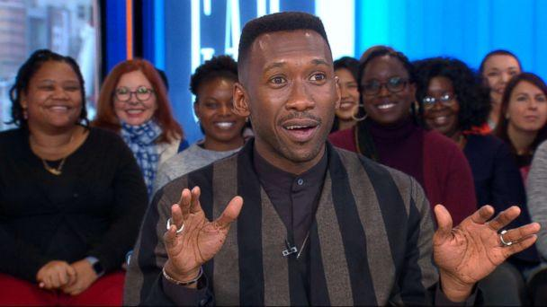 PHOTO: Mahershala Ali joined 'GMA' to talk about his new movie 'Green Book.' (ABC News)
