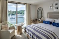 """<p>Soak up the sun and the coastal views at<a href=""""https://go.redirectingat.com?id=127X1599956&url=https%3A%2F%2Fwww.booking.com%2Fhotel%2Fgb%2Fsalcombe-harbour.en-gb.html%3Faid%3D2070935%26label%3Dweekend-getaways&sref=https%3A%2F%2Fwww.countryliving.com%2Fuk%2Ftravel-ideas%2Fstaycation-uk%2Fg34755768%2Fweekend-getaways%2F"""" rel=""""nofollow noopener"""" target=""""_blank"""" data-ylk=""""slk:Salcombe Harbour Hotel"""" class=""""link rapid-noclick-resp""""> Salcombe Harbour Hotel</a>, a nautical-chic hotel on the shores of the Salcombe Estuary. The location is sublime, and you'll feel instantly relaxed sipping cocktails on a sun lounger on the rooftop terrace. </p><p>Enjoy walks on the coast path, and the freshest catch of the day at the waterside restaurant. Situated in the South Devon AONB, you're also just half an hour from Dartmoor National Park.</p><p><a href=""""https://www.countrylivingholidays.com/offers/devon-salcombe-harbour-hotel-spa"""" rel=""""nofollow noopener"""" target=""""_blank"""" data-ylk=""""slk:Read our review of Salcombe Harbour Hotel."""" class=""""link rapid-noclick-resp"""">Read our review of Salcombe Harbour Hotel.</a></p><p><a class=""""link rapid-noclick-resp"""" href=""""https://go.redirectingat.com?id=127X1599956&url=https%3A%2F%2Fwww.booking.com%2Fhotel%2Fgb%2Fsalcombe-harbour.en-gb.html%3Faid%3D2070935%26label%3Dweekend-getaways&sref=https%3A%2F%2Fwww.countryliving.com%2Fuk%2Ftravel-ideas%2Fstaycation-uk%2Fg34755768%2Fweekend-getaways%2F"""" rel=""""nofollow noopener"""" target=""""_blank"""" data-ylk=""""slk:CHECK AVAILABILITY"""">CHECK AVAILABILITY</a></p>"""