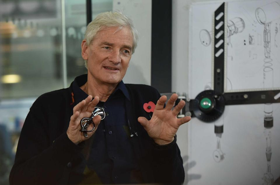 James Dyson dropped to number two on the list - even though his wealth rosePA Media
