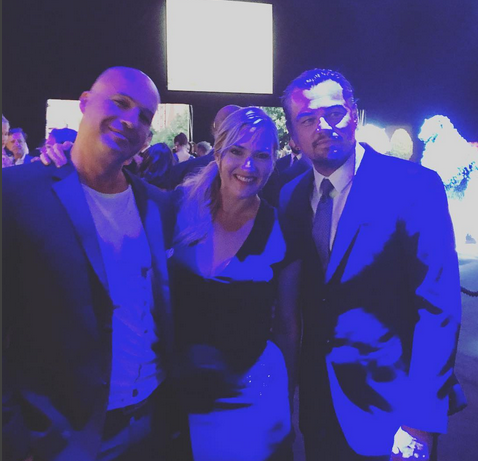 "<p>They'll never let go! The <em>Titantic</em> villian reunited with co-stars Kate Winslet and Leonardo Dicaprio at a benefit for Leo's evironmental foundation. ""Gangs back together. Now we're saving icebergs. Go figure,"" wrote Zane. (Photo: <a href=""https://www.instagram.com/p/BXBdH_AF-7G/?taken-by=billyzane"" rel=""nofollow noopener"" target=""_blank"" data-ylk=""slk:Blly Zane via Instagram"" class=""link rapid-noclick-resp"">Blly Zane via Instagram</a>) </p>"