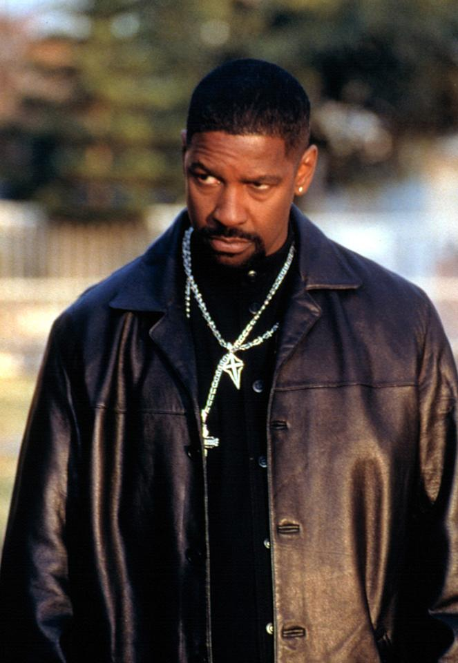 """<a href=""""http://movies.yahoo.com/movie/1807432836/info"""">TRAINING DAY</a> (2001)   For most of his career, Washington played characters who were righteous, if flawed, good guys. In this film, he plays Alonzo Harris, the most corrupt cop in LA. And he clearly had a ball doing it; he's repeatedly stated that this was the character of all his parts that he most enjoyed playing. That enthusiasm rubbed off on the Academy voters: Denzel finally won an Oscar for Best Actor."""