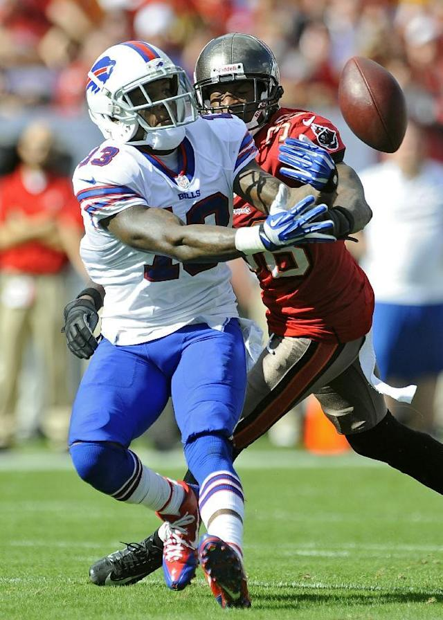 Bills WR Johnson determined to prove critics wrong