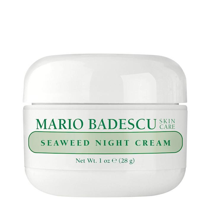 """<h3>Mario Badescu Seaweed Night Cream</h3><br><strong>Tammy</strong><br><br>""""I had heard it was a great dupe for a certain extremely pricey cult-favorite cream and figured before I drop $250+ on the cult brand, might as well give this shot first and OMG. Not disappointed in the least. My skin feels so plump and hydrated and the texture is the smoothest I have ever seen without using exfoliants. I'm not even considering splurging on the pricey brand now, there is literally no need.""""<br><br><strong>Mario Badescu</strong> Seaweed Night Cream, $, available at <a href=""""https://amzn.to/30CZiOJ"""" rel=""""nofollow noopener"""" target=""""_blank"""" data-ylk=""""slk:Amazon"""" class=""""link rapid-noclick-resp"""">Amazon</a>"""