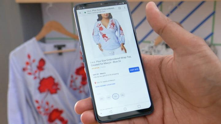 hands on with google lens at io 2018