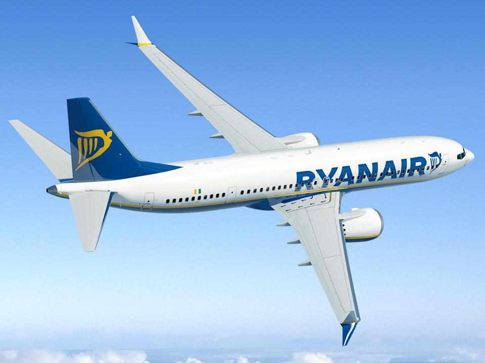 <p>Common sight: Ryanair previously ordered 135 Boeing 737 Max jets</p> (Ed Turner)