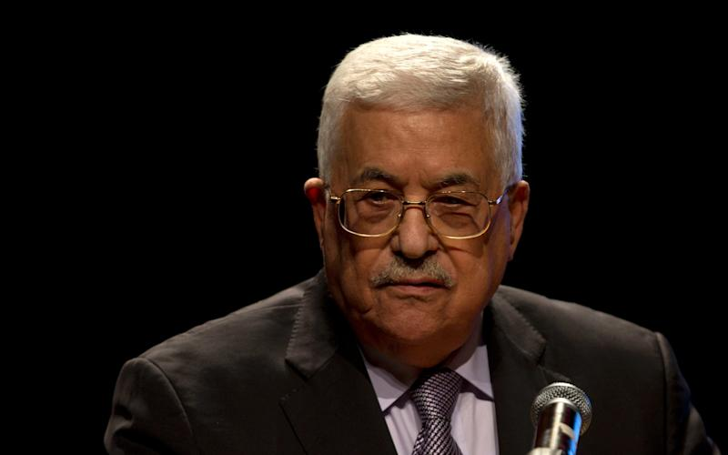 Palestinian president Mahmoud Abbas  - Copyright 2016 The Associated Press. All rights reserved.