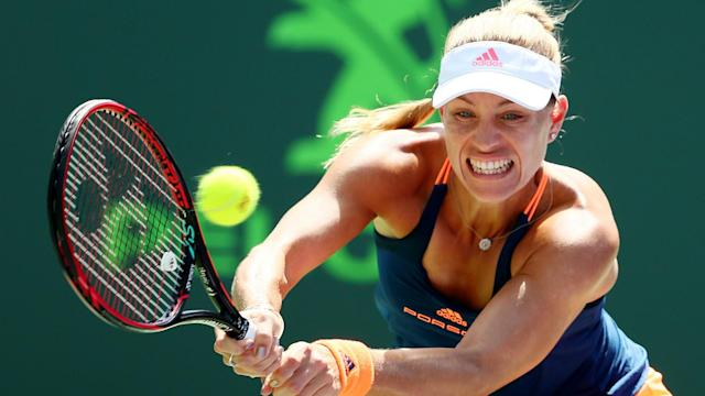 World number one and two-time grand-slam champion Angelique Kerber defeated American Shelby Rogers in straight sets on Sunday.