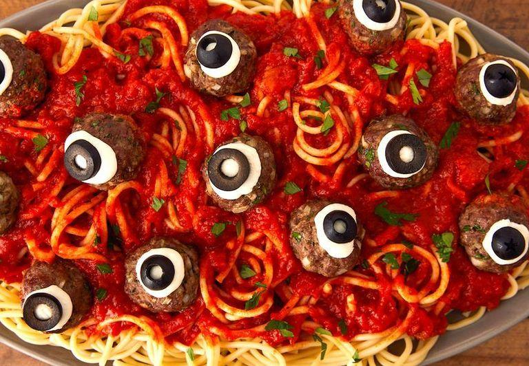 """<p>Whether you're planning a spooky and spectacular Halloween bash or just fueling up the kids before a long night of trick-or-treating, we've got the family-friendly <a href=""""/holiday-recipes/halloween/g3490/halloween-appetizers/"""">appetizers</a>, main dishes, and <a href=""""/holiday-recipes/halloween/g151/halloween-desserts/"""">desserts</a> your Halloween needs. For even more Hallow's Eve ideas, including a few less kid-friendly options, check out this collection of <a href=""""https://www.delish.com/holiday-recipes/halloween/g1681/grown-up-halloween-party/"""" target=""""_blank"""">grown-up dinner party recipes</a>.</p>"""