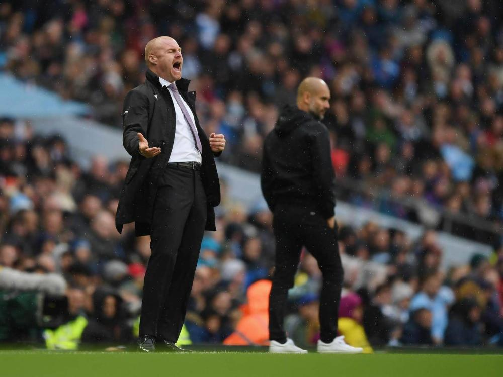 Dyche has gone up against the likes of Pep Guardiola and held his own (Getty)