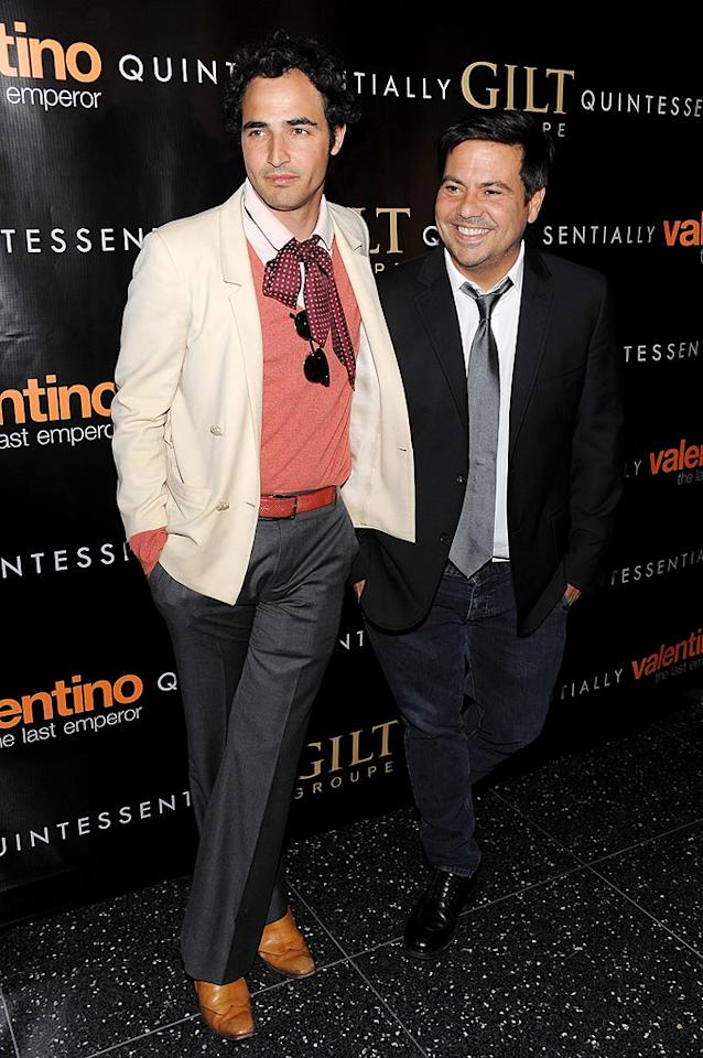 "Zac Posen and Narciso Rodriguez were also on hand to pay homage to their fellow designer. Dimitrios Kambouris/<a href=""http://www.wireimage.com"" target=""new"">WireImage.com</a> - March 17, 2009"