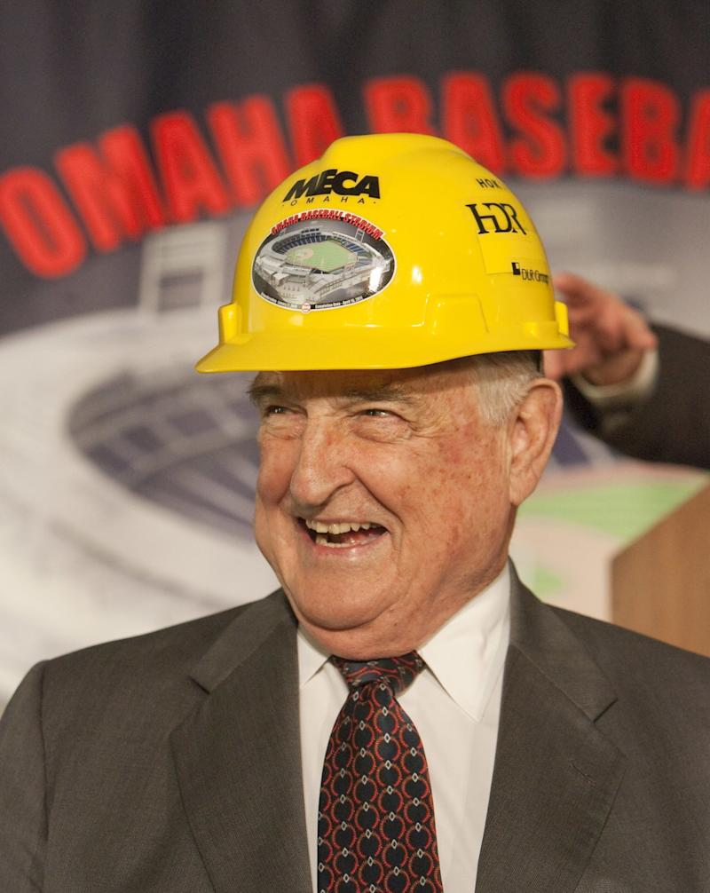 Omaha dignitary Walter Scott Jr., former CEO of Kiewit Corp. and chairman of the nonprofit Heritage Services.
