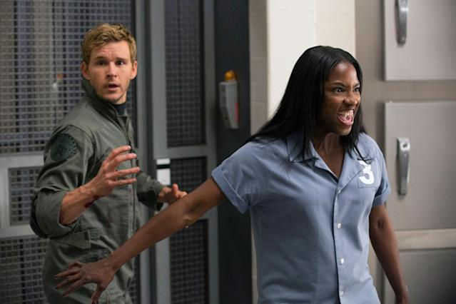 "Ryan Kwanten and Rutina Wesley in the ""True Blood"" Season 6 episode, ""In the Evening."""