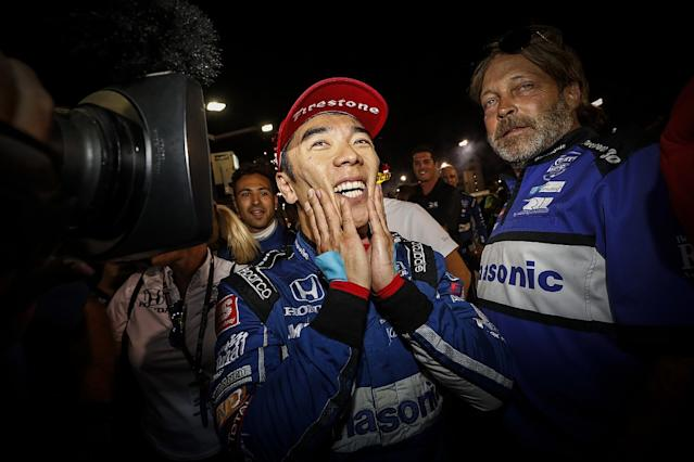 Sato: Support after Pocono made win more special