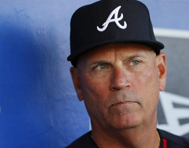A strong second half could save Braves manager Brian Snitker. (Getty Images/Rich Schultz)