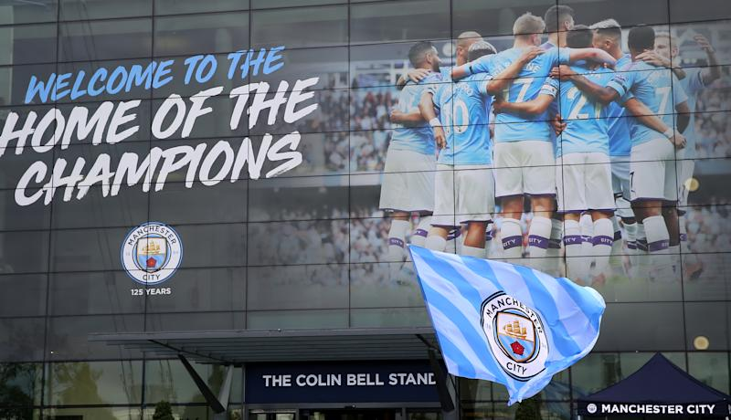 Manchester City received club-crippling punishments for cheating, unlike the Houston Astros. And unlike the Astros, City still hasn't won the ultimate prize in its sport. (Photo by Nigel French/EMPICS/PA Images via Getty Images)