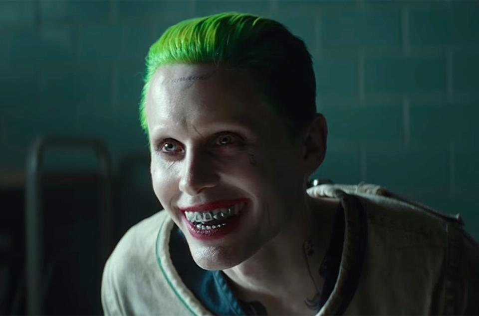 Jared Leto as the Joker in Sucide Squad (Credit: Warner Bros.)