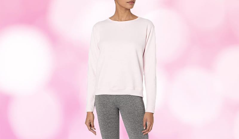 Score up to 40 percent off the already-affordable sweatshirt. (Photo: Amazon)
