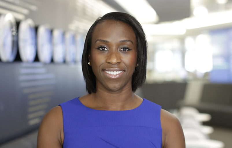 London Stock Exchange Group's Maryse Gordon, the winner of the EMpower Future Leader list 2021. Photo: London Stock Exchange Group
