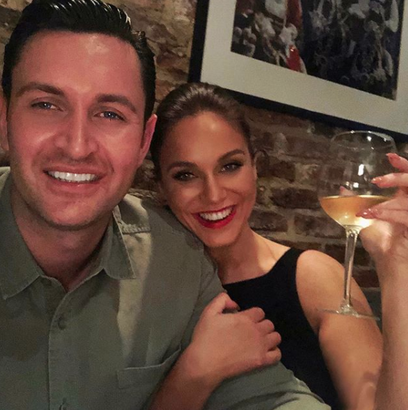 Vicky and businessman John Noble got engaged last year. Source: Instagram / vickypattison