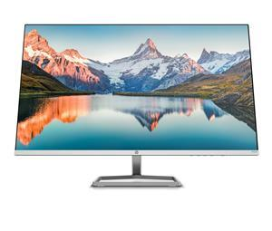 The HP M-Series FHD Monitors are the world's first Eyesafe® certified monitor series made with recycled ocean-bound plastics. [50] Each monitor is sustainably made with 85% post-consumer recycled plastic and 100% recycled packaging. [51]