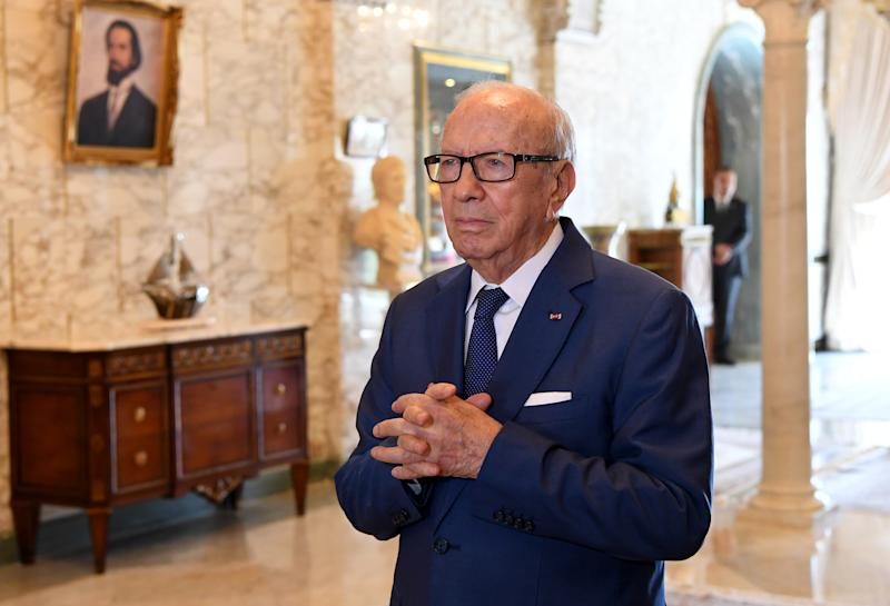 President Beji Caid Essebsi hashelped pushed the needle forward on women's rights in Tunisia. (FETHI BELAID/AFP/Getty Images)
