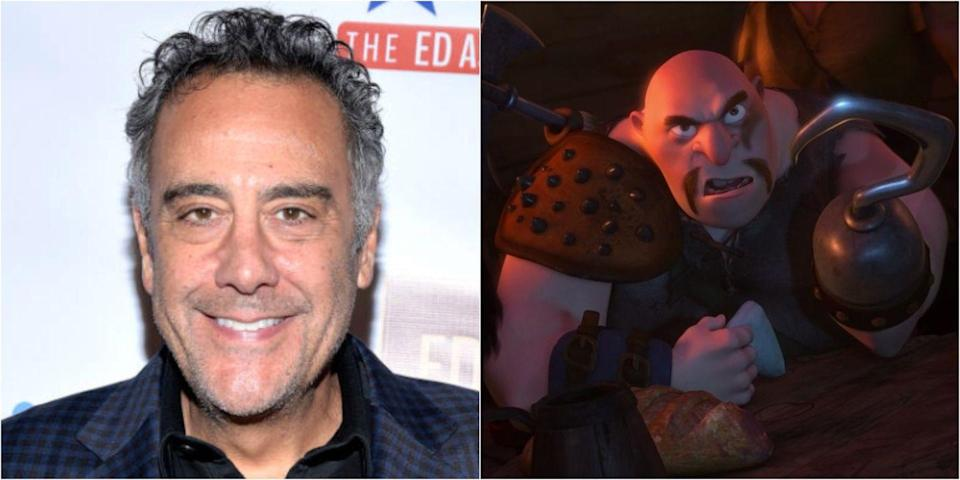 <p>The comedian and <em>Everybody Loves Raymond</em> star lends his voice to the scary yet sweet Hook Hand Thug in the 2010 film <em>Tangled</em>, as well as in the TV series spin-off. Prior to that, he took on the role of Gusteau in <em>Ratatouille</em>.</p>