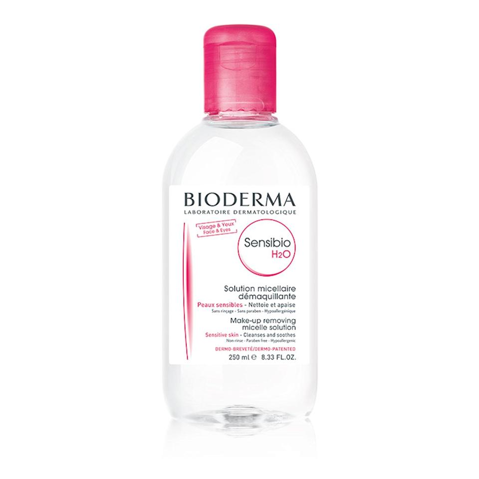 "<p><em>Allure</em> readers wouldn't dare go to bed with makeup on. So naturally, y'all spent last month stocking up on cleanser. Bioderma's <a href=""https://www.allure.com/gallery/micellar-water-facial-cleanser?mbid=synd_yahoo_rss"" rel=""nofollow noopener"" target=""_blank"" data-ylk=""slk:micellar water"" class=""link rapid-noclick-resp"">micellar water</a> is one of the oldest and most well-known versions on the market. Soak a cotton pad in this gentle cleanser and use it to wipe away dirt and impurities, no rinsing or water needed.</p> <p><strong>$15</strong> (<a href=""https://shop-links.co/1701126797402519710"" rel=""nofollow noopener"" target=""_blank"" data-ylk=""slk:Shop Now"" class=""link rapid-noclick-resp"">Shop Now</a>)</p>"