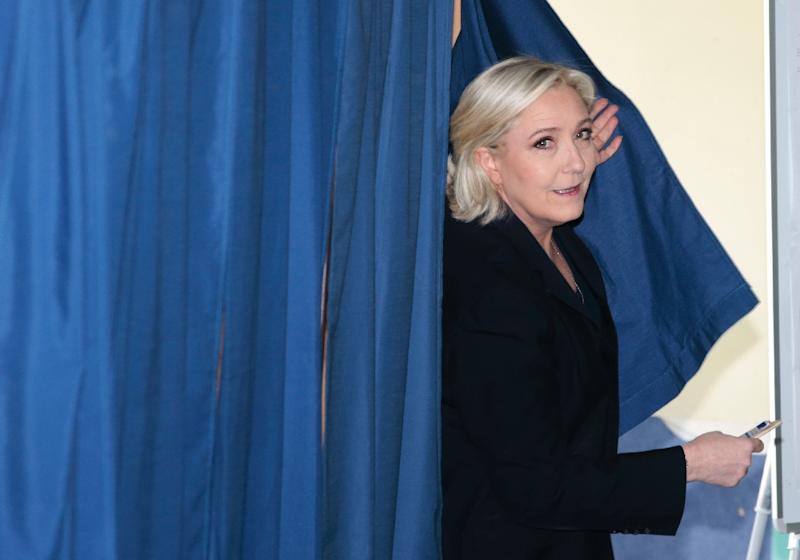 Marine Le Pen has sought to purge the National Front of anti-Semitism and overt racism (AFP Photo/joel SAGET)