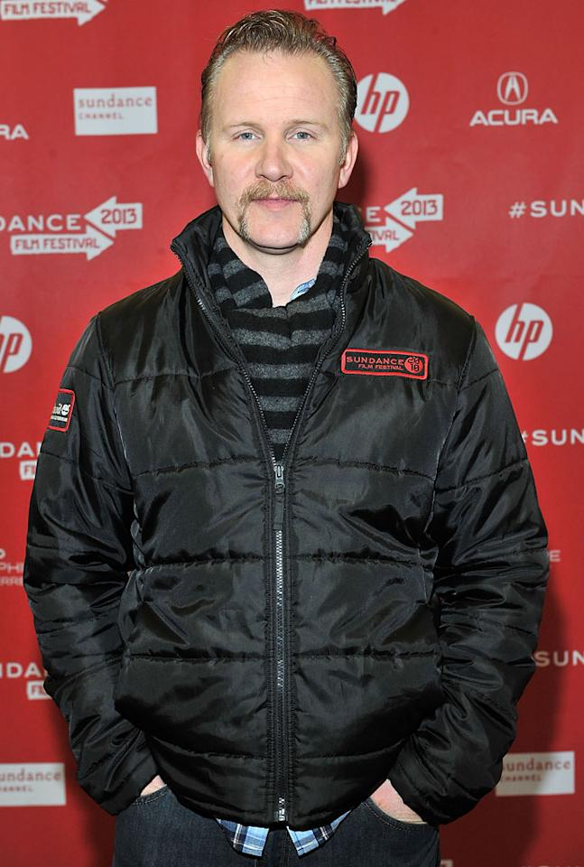 """PARK CITY, UT - JANUARY 22:  Filmmaker Morgan Spurlock attends the """"Blood Brother"""" premiere at Yarrow Hotel Theater during the 2013 Sundance Film Festival on January 22, 2013 in Park City, Utah.  (Photo by Sonia Recchia/Getty Images)"""