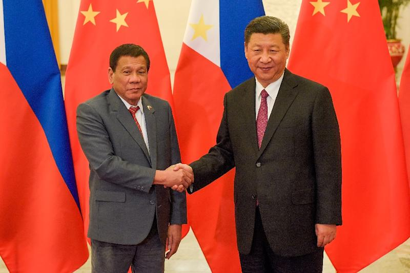 Philippines President Rodrigo Duterte has warmed ties with China since his election last year