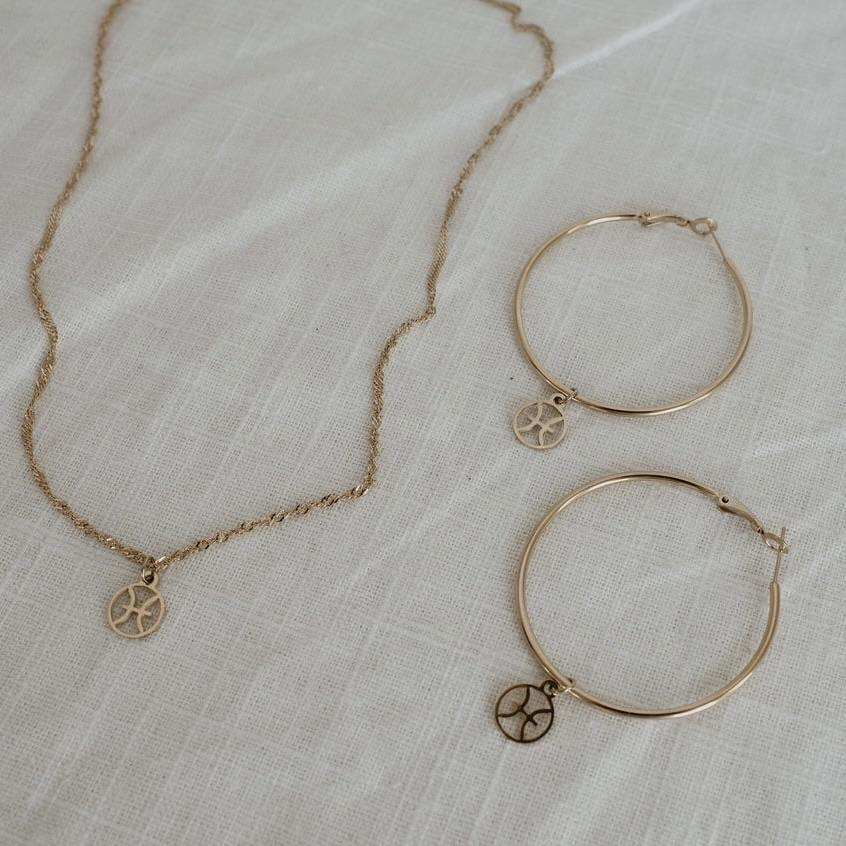 <p>Get this beautiful <span>Stella &amp; Haas Zodiac Charm Set</span> ($35) for your friend who loves astrology.</p>