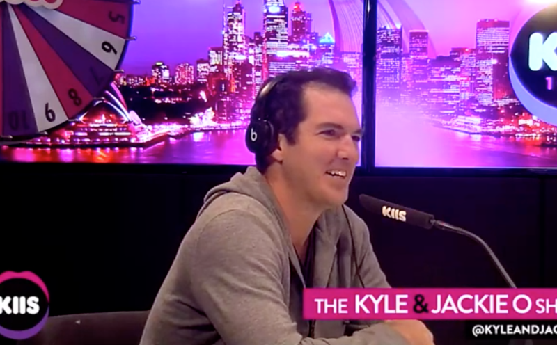 Peter Stefanovic speaks on the Kyle and Jackie O show