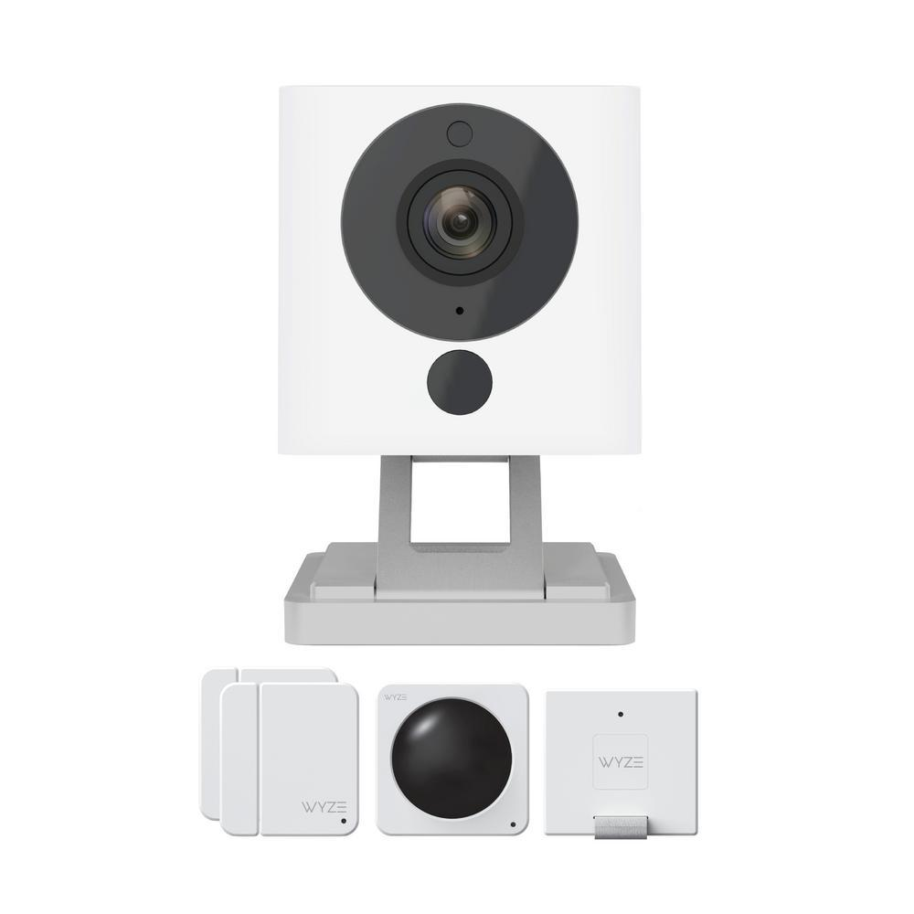 1080p Indoor Wireless Surveillance System includes WyzeCam v2 Camera and Wyze Sense Starter Kit ('Multiple' Murder Victims Found in Calif. Home / 'Multiple' Murder Victims Found in Calif. Home)