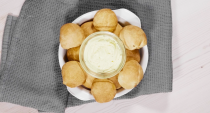 """<p>Fans of <a href=""""https://www.delish.com/uk/food-news/a30775814/pizza-express-hiding-55-golden-dough-balls-1000-pounds/"""" rel=""""nofollow noopener"""" target=""""_blank"""" data-ylk=""""slk:Pizza Express doughballs"""" class=""""link rapid-noclick-resp"""">Pizza Express doughballs</a> are going to love our homemade doughball recipe. Ours are stuffed with deliciously herby and garlicky Boursin cheese, making them incredibly moreish. They would be perfect for a <a href=""""https://www.delish.com/uk/cooking/recipes/a30975564/easy-pizza-dough-recipe/"""" rel=""""nofollow noopener"""" target=""""_blank"""" data-ylk=""""slk:pizza"""" class=""""link rapid-noclick-resp"""">pizza</a> party, or a <a href=""""https://www.delish.com/uk/cooking/recipes/g32754605/picnic-food/"""" rel=""""nofollow noopener"""" target=""""_blank"""" data-ylk=""""slk:picnic"""" class=""""link rapid-noclick-resp"""">picnic</a> dish. </p><p>Get the <a href=""""https://www.delish.com/uk/cooking/recipes/a36405176/doughballs/"""" rel=""""nofollow noopener"""" target=""""_blank"""" data-ylk=""""slk:Cheesy Doughballs"""" class=""""link rapid-noclick-resp"""">Cheesy Doughballs </a>recipe.</p>"""