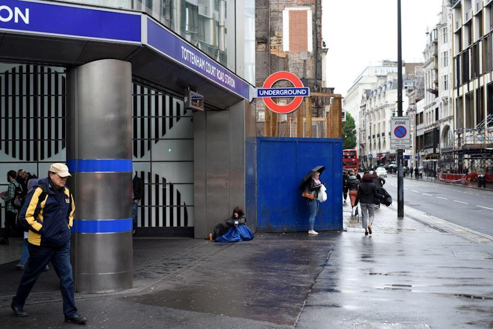 Homelessness Reduction Act will aim to reduce the number of rough sleepers around the UK. (Getty)