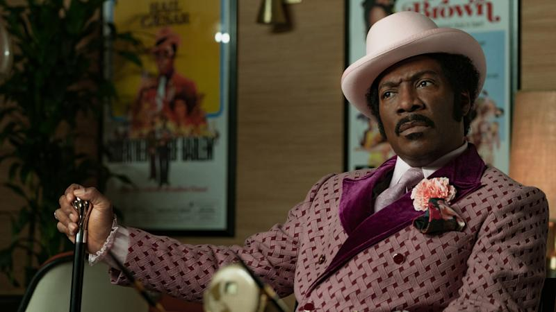 Eddie Murphy is attracting Oscar buzz for his lead role in comedy biopic 'Dolemite Is My Name' for Netflix. (Credit: Netflix)