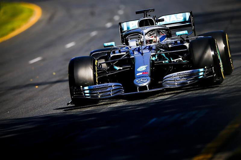 Hamilton leads Mercedes dominated practice two