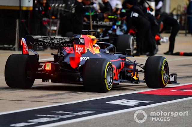 """Max Verstappen, Red Bull Racing RB15 <span class=""""copyright"""">Simon Galloway / Motorsport Images</span>"""