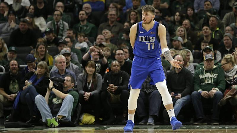 12a310f36 Luka Doncic becomes second NBA teenager to record triple-double ...