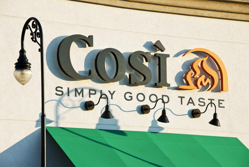 UNITED STATES - 2011/08/11: Cosi eatery. (Photo by John Greim/LightRocket via Getty Images)