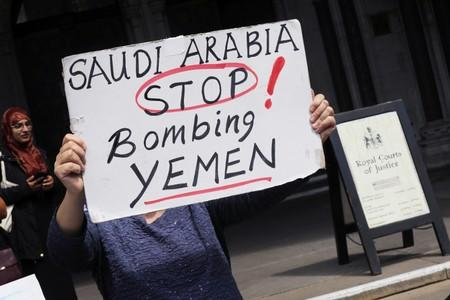 United Kingdom government suspends new arms sales to Saudi Arabia after court ruling