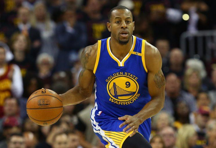 Andre Iguodala has played four seasons with the Warriors. (Getty Images)